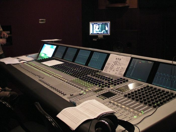 Audio Control Room